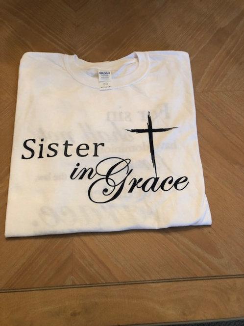 Sister in Grace (White)