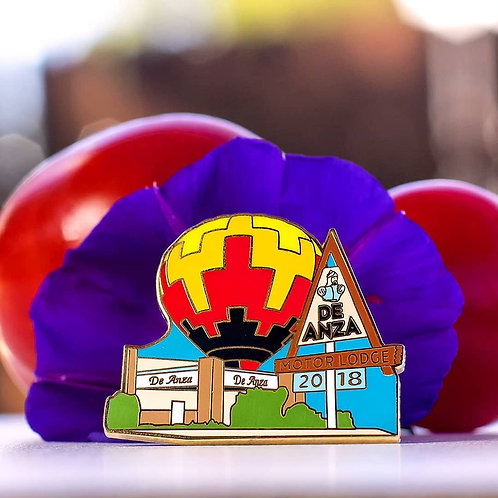 De Anza Balloon Fiesta 2018 Collector's Pin