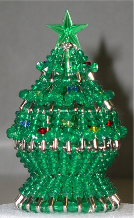 Beaded Christmas Tree Kit