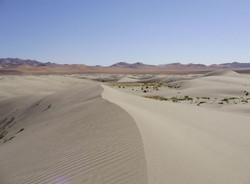 Sand Dunes of Nevada