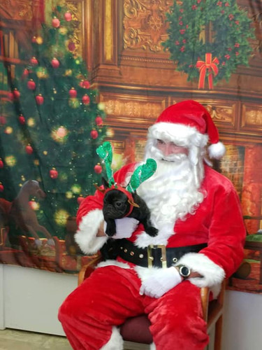 Santa with friend
