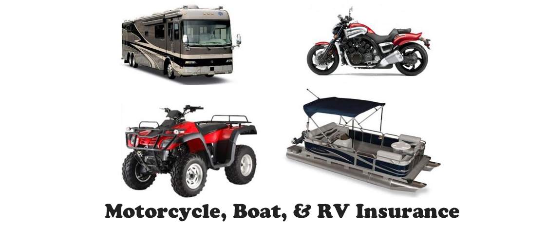 RV Motorcycle & Boat Insurance