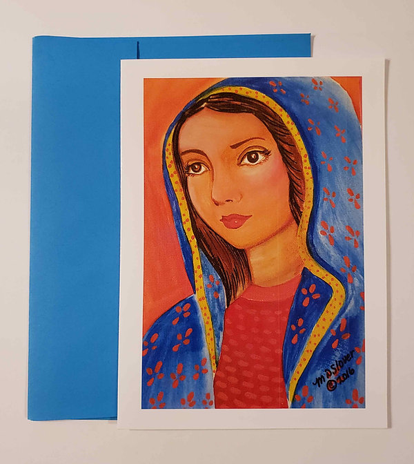 Virgin Mary Greeting Card 001.jpg