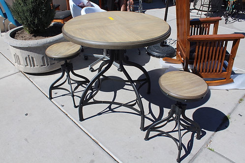 Bistro Set ~ Table and two stools