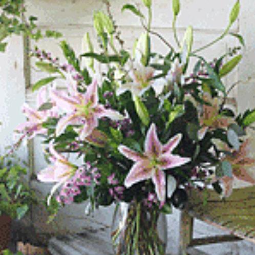 Large Lily Arrangement