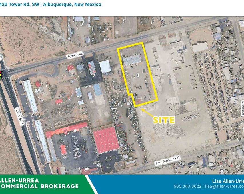 Tower Rd, 4420_Albuquerque, NM Aerial