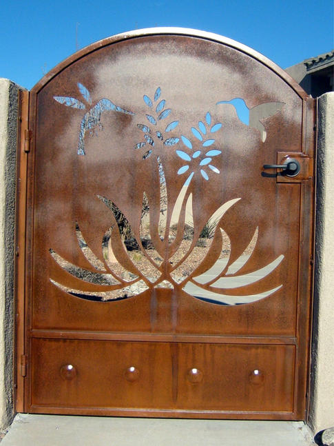 Solid Panel Gate 8