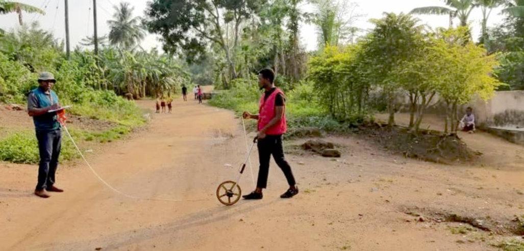 Surveying for Ghana Children's School