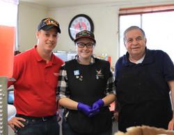 New Staff at Burger Boy
