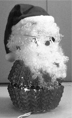 Lighted Santa