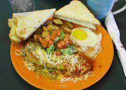 1/2 Chile Relleno Breakfast