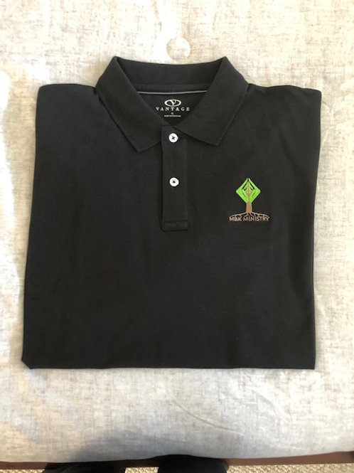 My Brother's Keeper Men's Polo (Black)