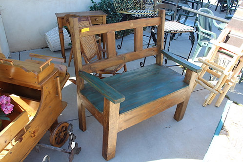 Mexican Rustic Style Bench