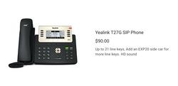 Yealink T27G