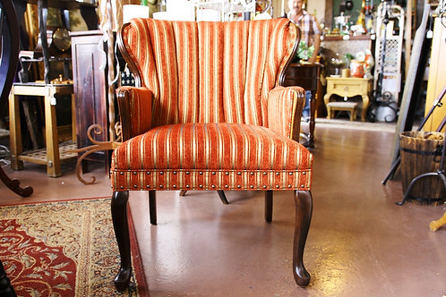 SOLD! 2 Vintage Wing Back Chairs