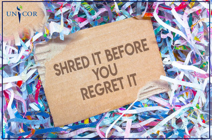 Shred it before You Regret It