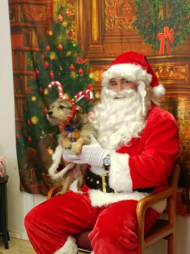 Santa with a Elf