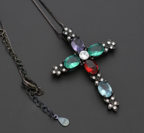 Cross Necklace by Public Image