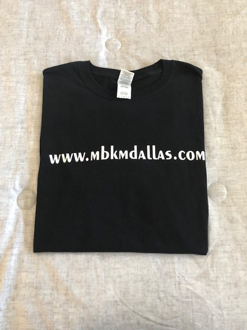 www.MBKMDallas.com Shirt with Special Back