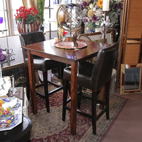 SOLD! Pub table & TWO Chairs