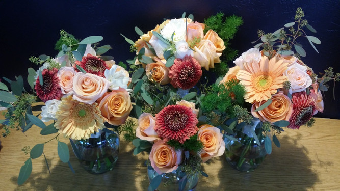Wide gorgeous bouquets