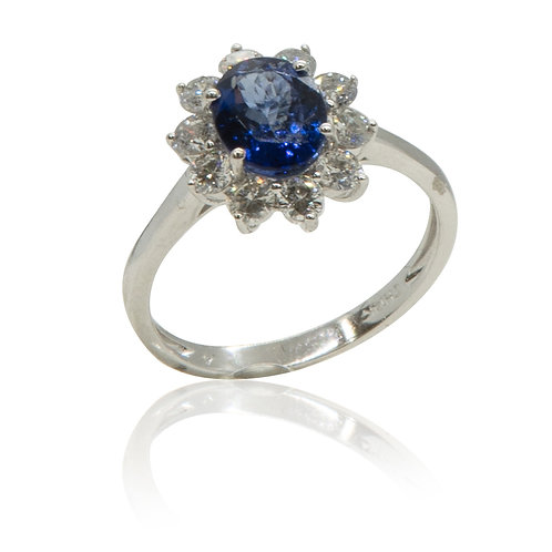 Isabella Tanzanite Ring