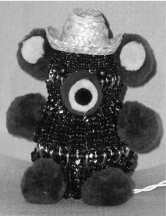 Lighted Teddy Bear