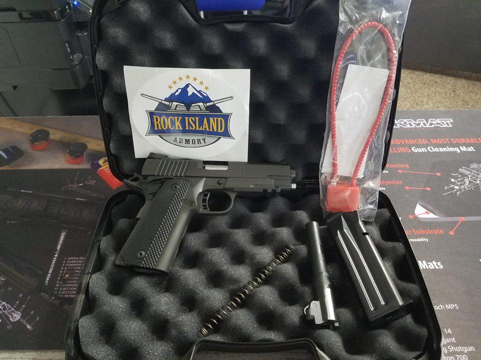 ROCK ISLAND ARMORY M1911A2 MS