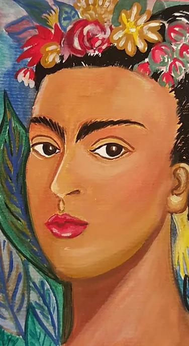 Frida Kahlo #4 5X7 Greeting Card