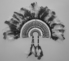 Large War Bonnet Wall Hanging