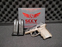 SCCY CPX-2CB 9MM FLAT DK EARTH + 1 Bonus Mag for a total of 3