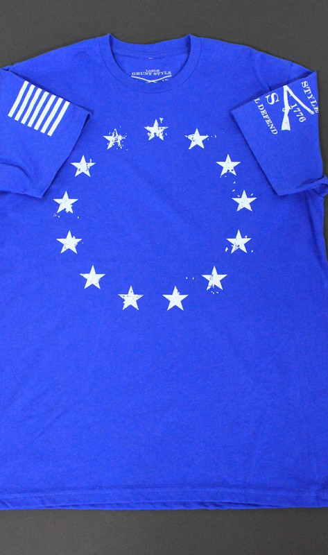 Colonial Stars T-Shirt (Grunt Style)