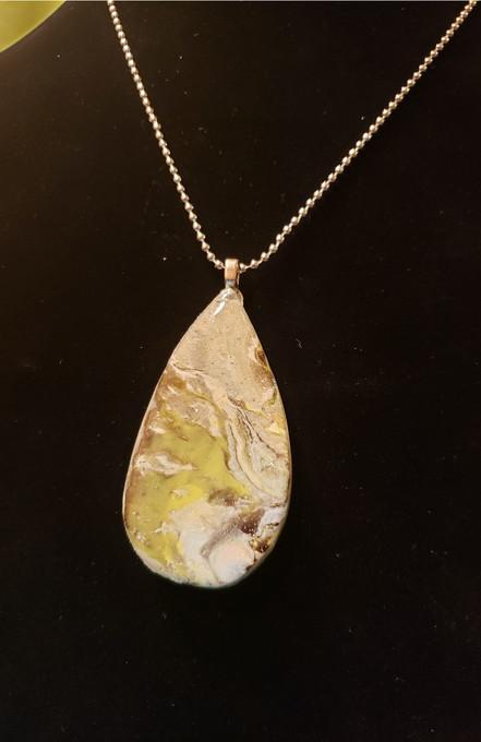 313 Clay Sage Necklace