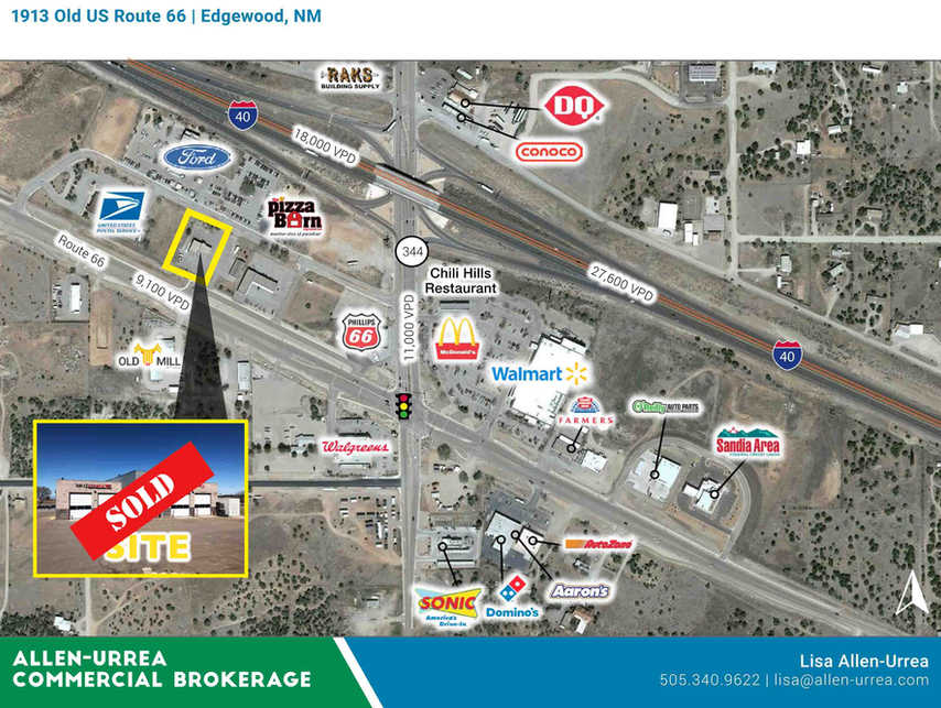 SOLD - Old US Route 66 1913_Edgewood NM-