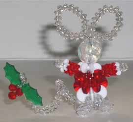 Beaded Christmas Mouse