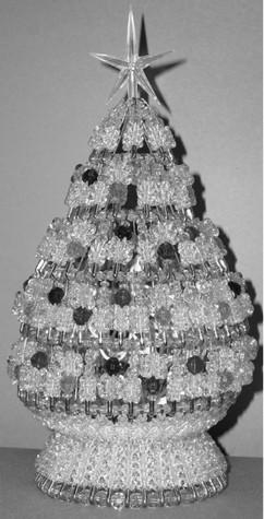 Lighted Ornatment Tree Kit