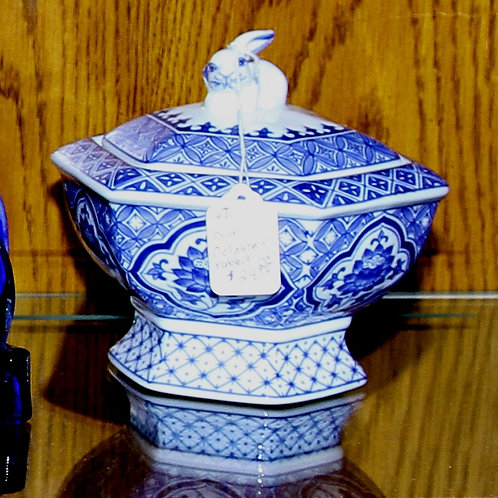 Blue Bombay Candy Dish