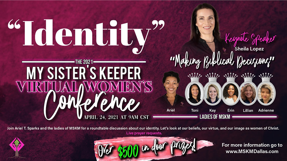 MSKM Conference Flyer 2021 April 24th at 9am CST