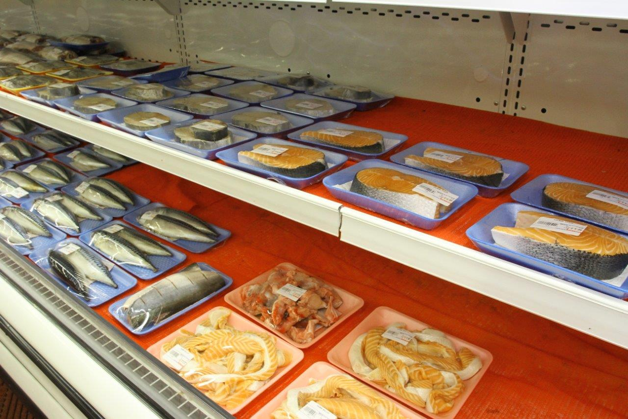 Salmon steaks & Fresh Seafood