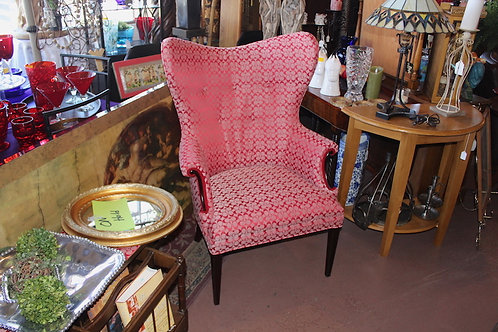Coach Wingback Art Deco Chair