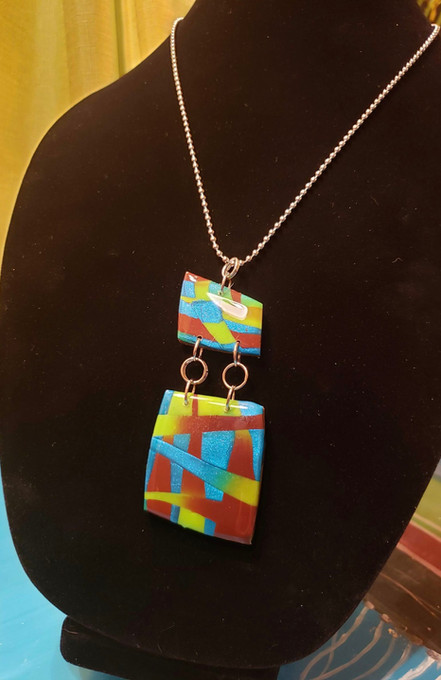Resin Necklace 302