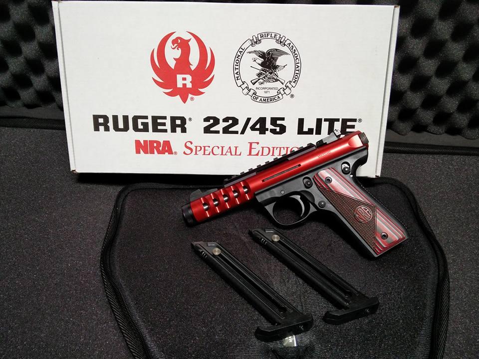 RUGER 22/45LT NRA
