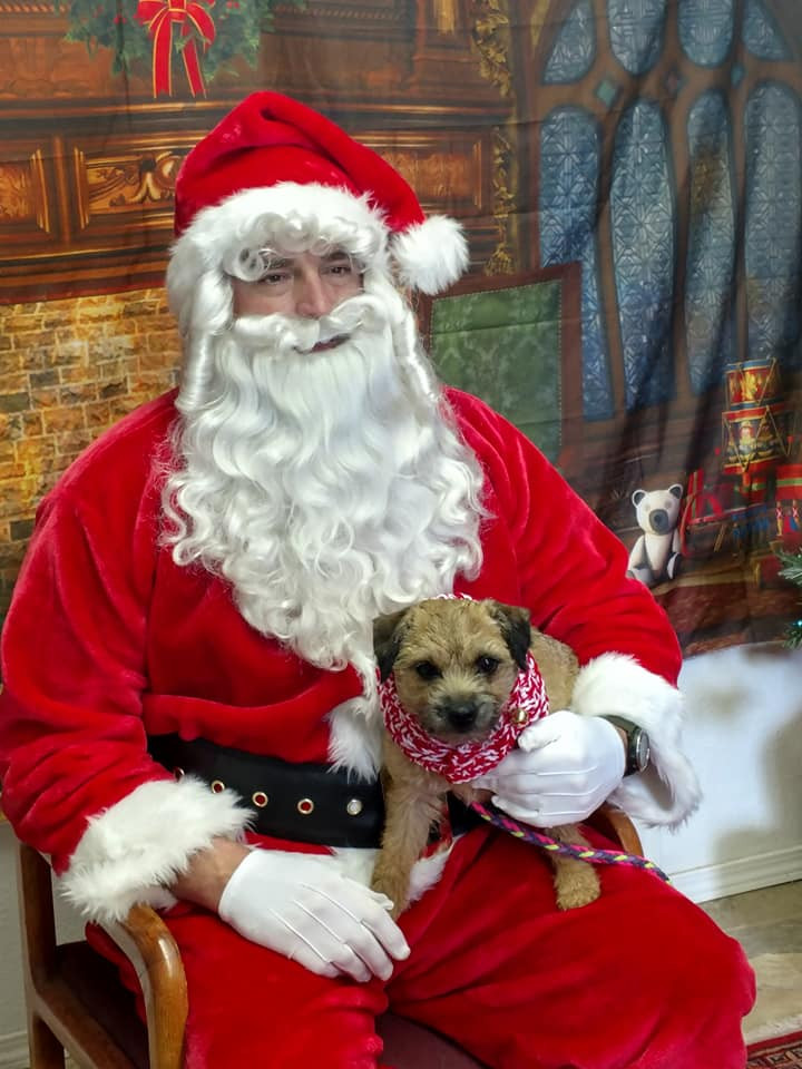 Santa with little bitty
