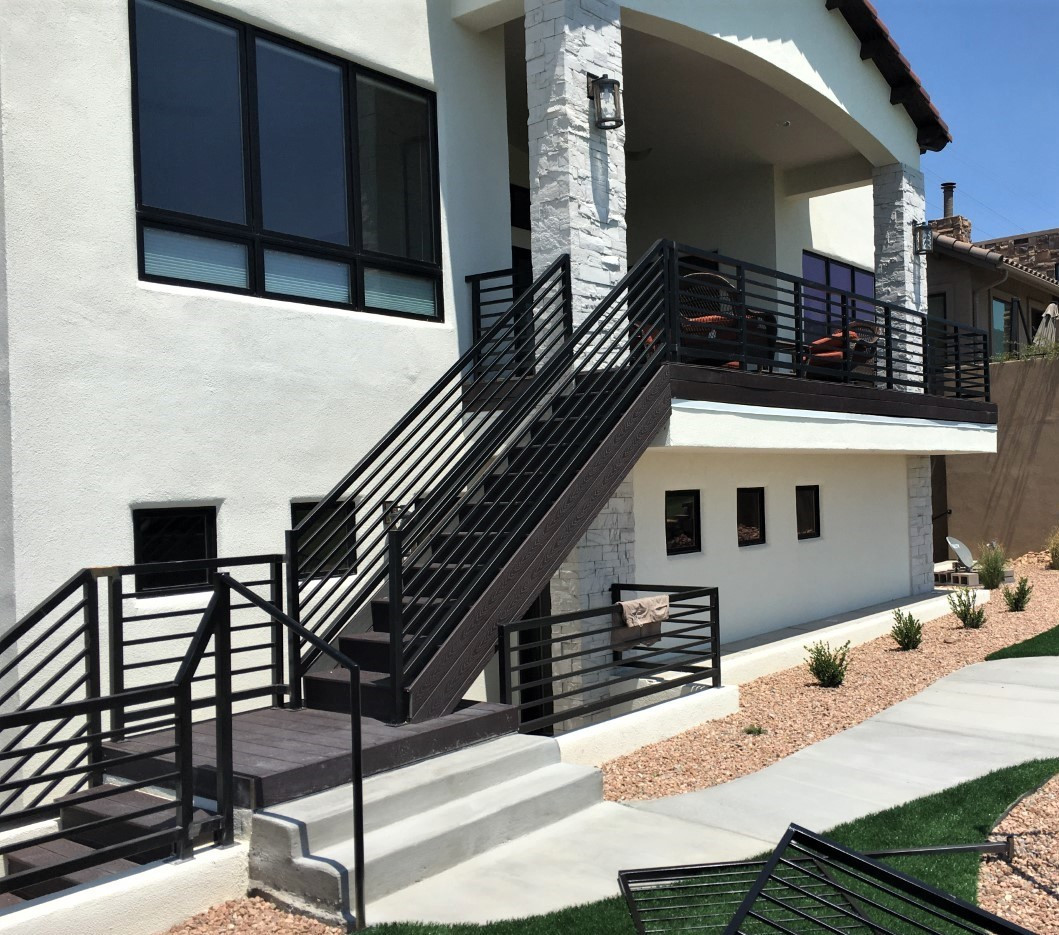 Side of House Staircase 11