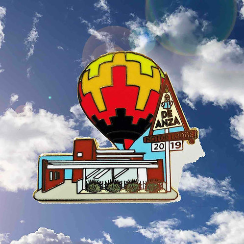 De Anza Balloon Fiesta 2019 Collector's Pin