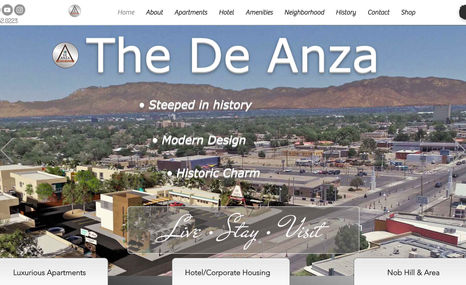 The Deanza The De Anza is a totally re-envisioned 1900's mote...