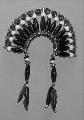 Large War Bonnet Ornament