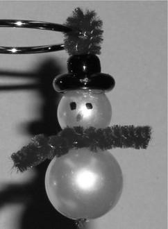 Mini Snowman Ornament