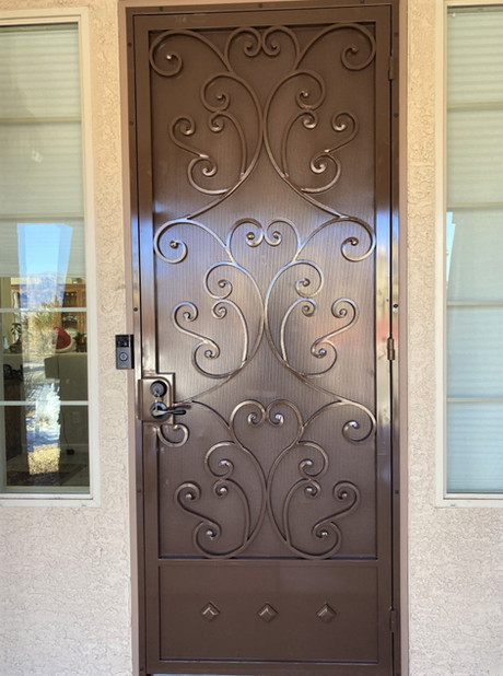 Deluxe Security Door 26