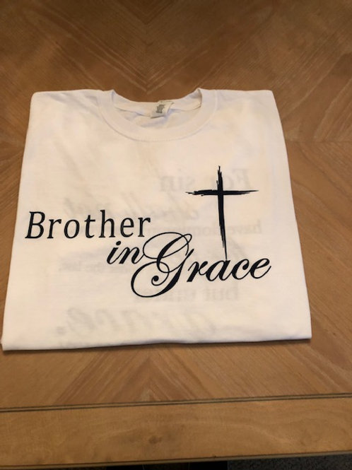 Brother in Grace (White)